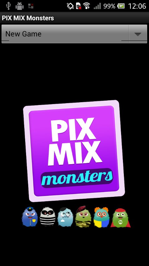 PIX MIX Monsters - screenshot