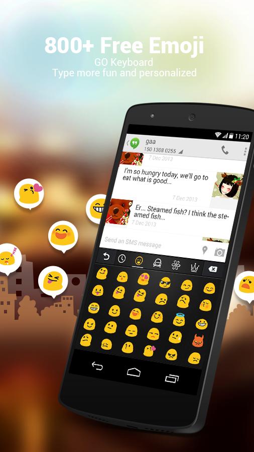 Polish for GO Keyboard - Emoji - screenshot