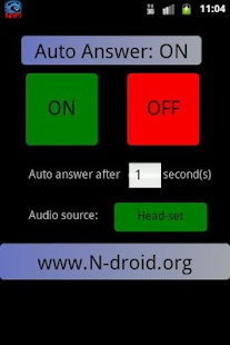 how to activate auto answer in android