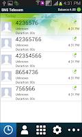 Screenshot of SNS Telecom