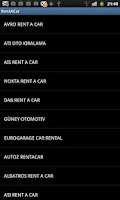 Screenshot of Rent A Car Rehberi