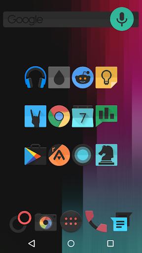 BLACK FLEX - Icon Pack