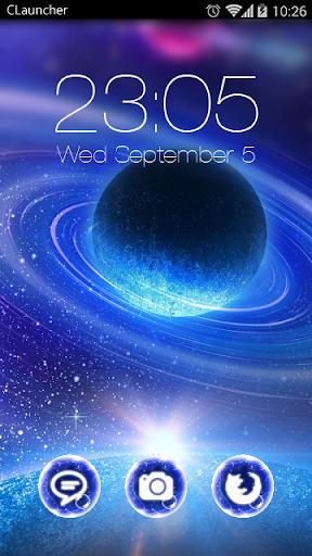 Galaxy Sparkle Theme