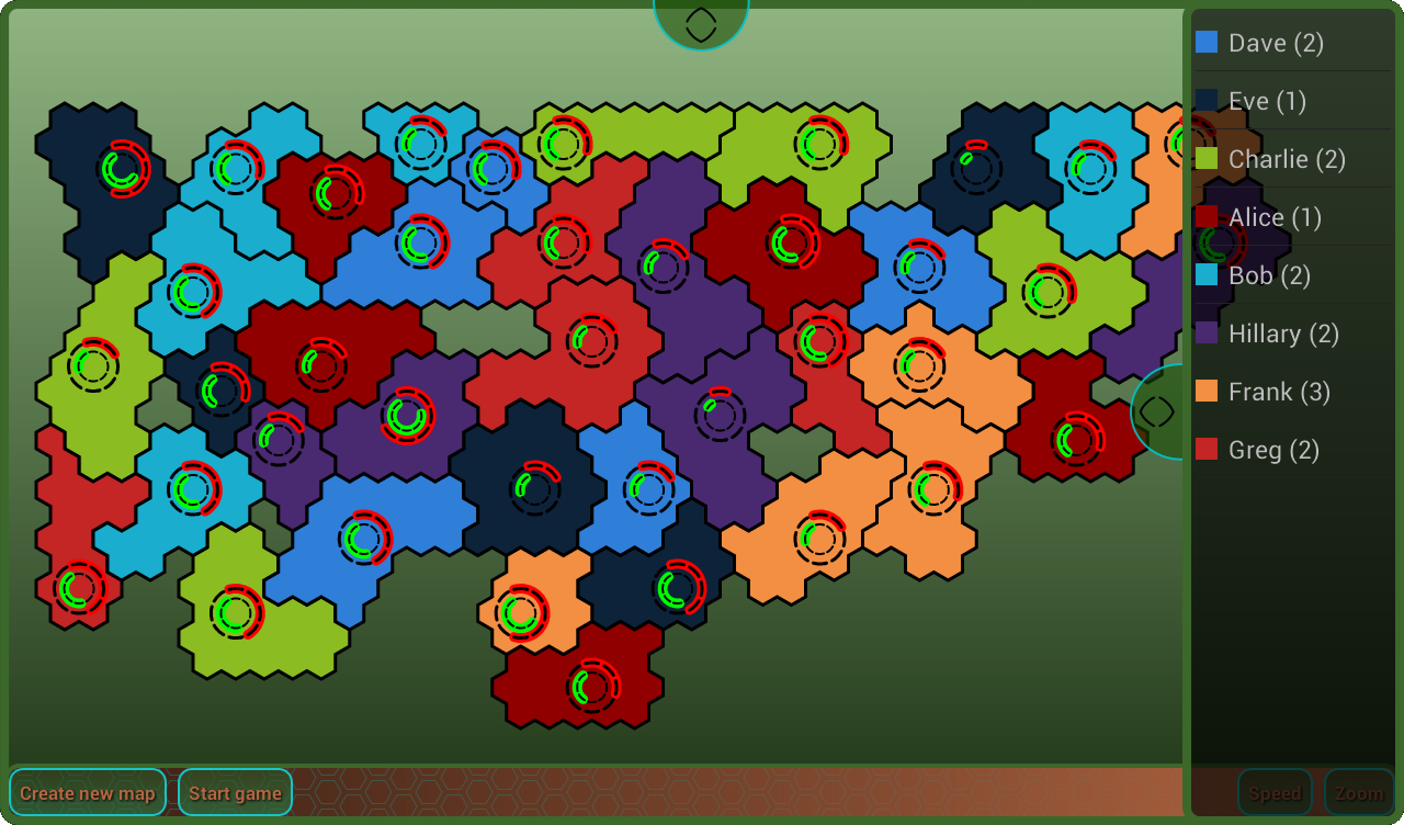 Hexagon Fight- screenshot