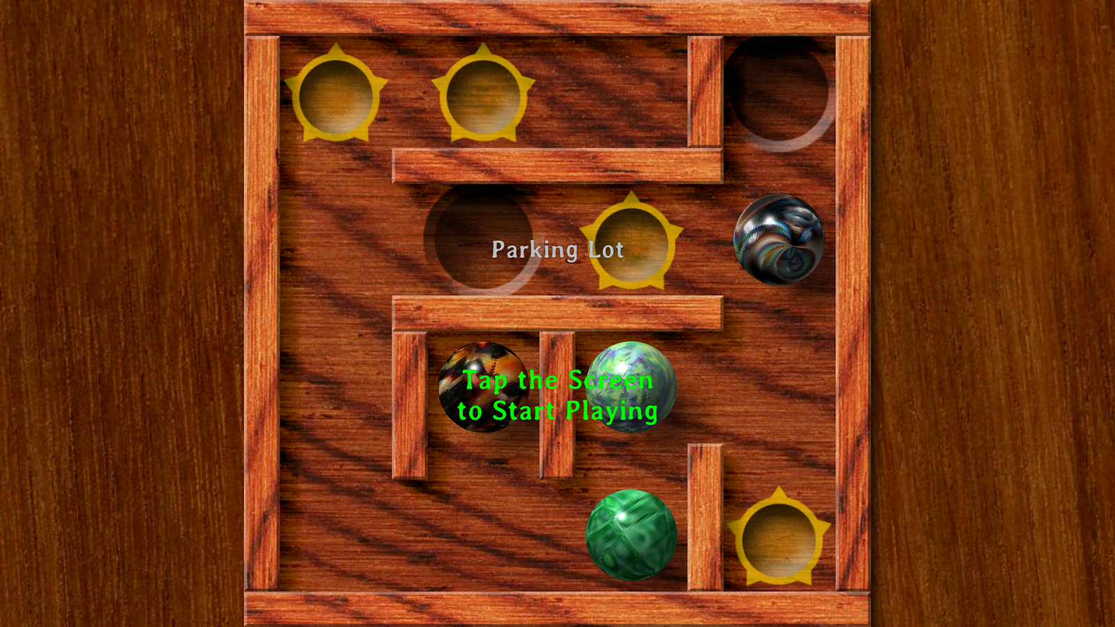 Plunk! the marble game - screenshot