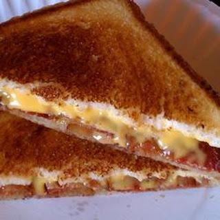 Elvis' Grilled Cheese Sandwich.