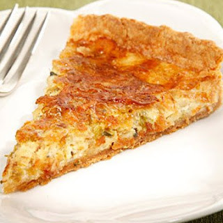 Caramelized Leek Quiche