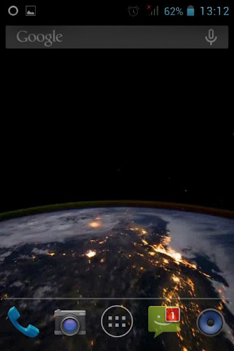 Night Earth From Space LWP