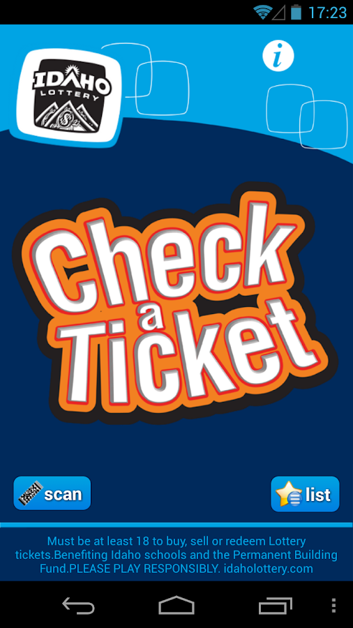 Check-a-Ticket - screenshot