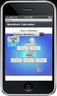 Marathon Calculator - screenshot thumbnail