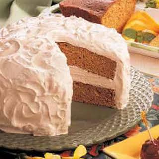 Sour Cream Spice Cake.