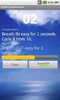 Screenshot of Anti-stress Exercise