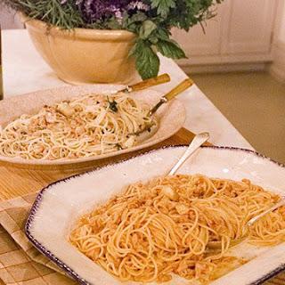 Mark's Spaghetti with Brooklyn Clam Sauce
