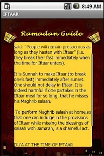 A Complete Ramadan Guide- screenshot thumbnail