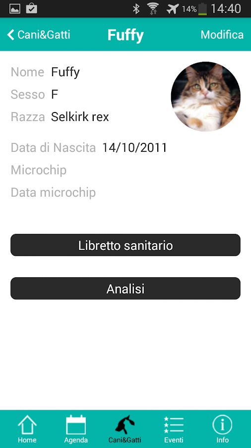 Clinica Veterinaria Gran Sasso- screenshot