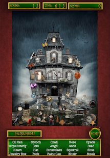 Hidden Objects Haunted Houses- screenshot thumbnail