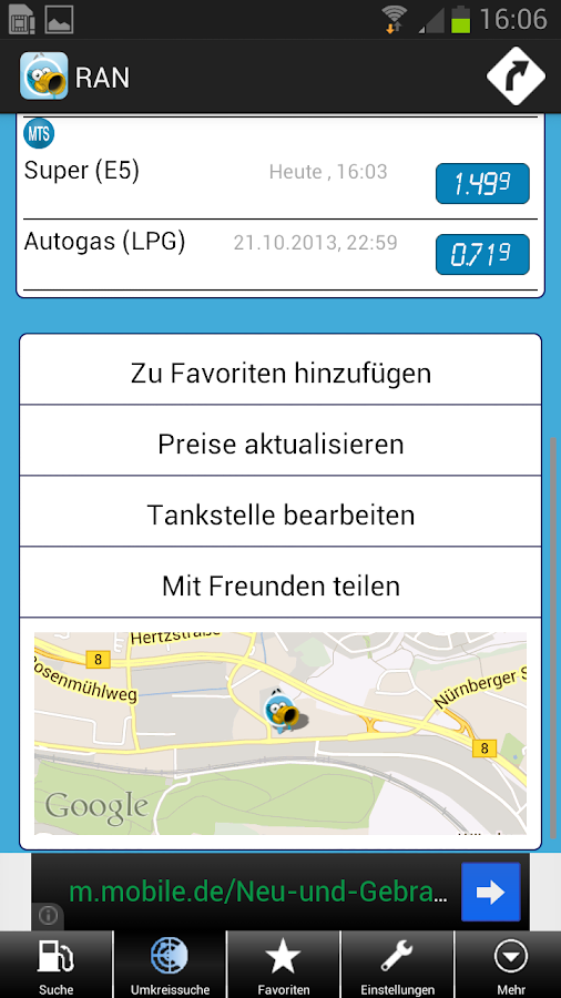 mehr-tanken - screenshot