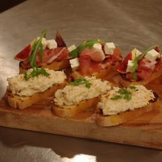 Parma Ham And Fig Crostinis