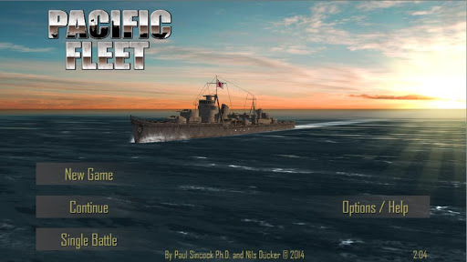 Игра Pacific Fleet для планшетов на Android