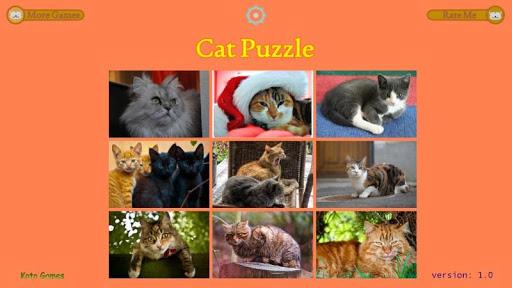 Cat Puzzle - Best For Kids