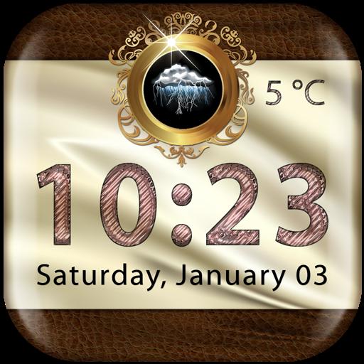 Luxury Weather Clock Widget