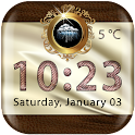 Luxury Weather Clock Widget icon