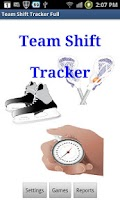 Screenshot of Team Shift Tracker