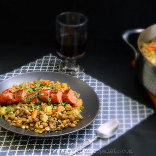 Lentils with Spanish Chorizo