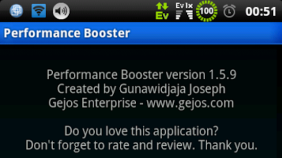 Performance Booster root