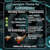 ADW Theme Cyanogen 1.16