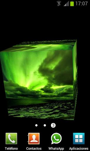 极地极光3D动态壁纸