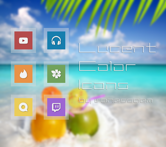Lucent Color Icons - Icon Pack v1.7
