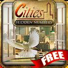Cities Hidden Numbers icon