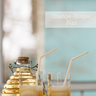 Orange-Ginger Fizz | Tipsy Tuesday