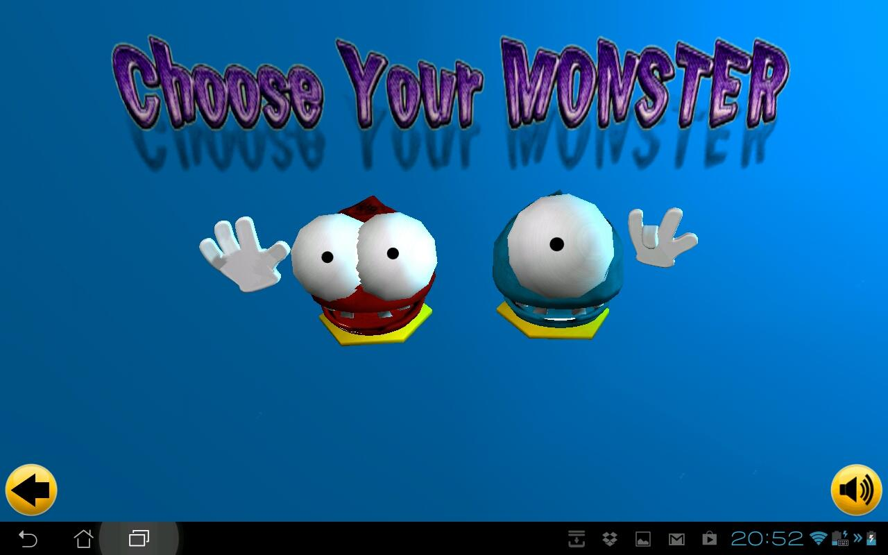 Very Little Monsters Lite - screenshot