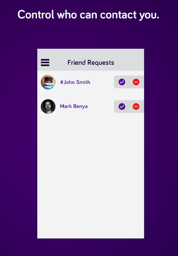 Private Text Messaging Calls - screenshot