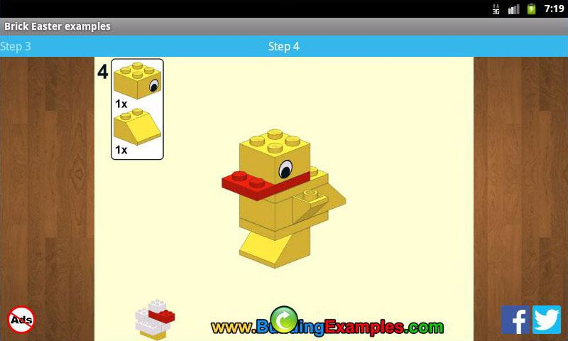 Brick Easter examples- screenshot