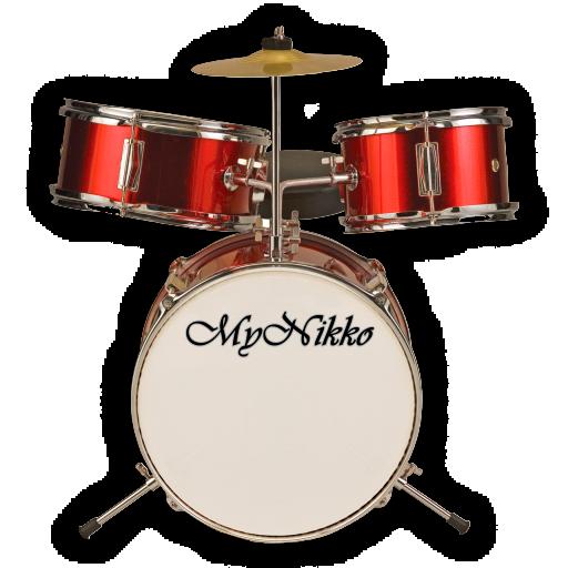 娱乐の実況ドラムセット (Actual Drumset Pro) LOGO-記事Game