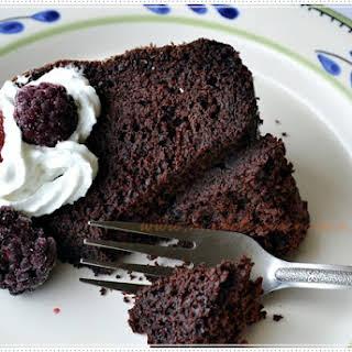 Chocolate and Dark Beer Bundt Cake.