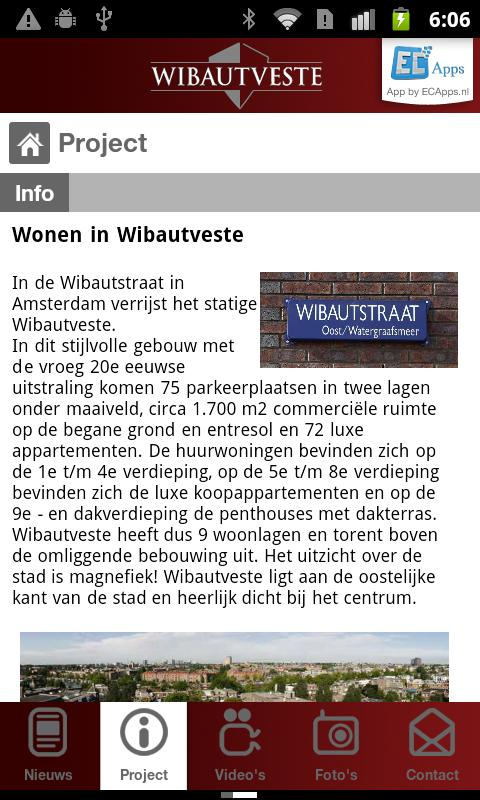 Wibautveste - screenshot