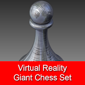 VR Giant Chess Set