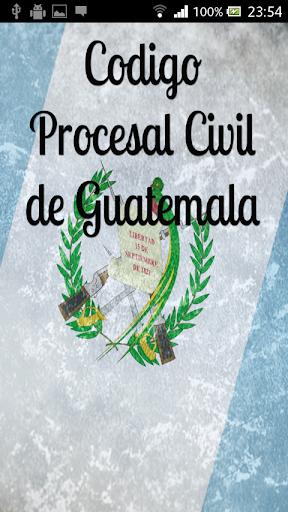 Procesal Civil Guatemala
