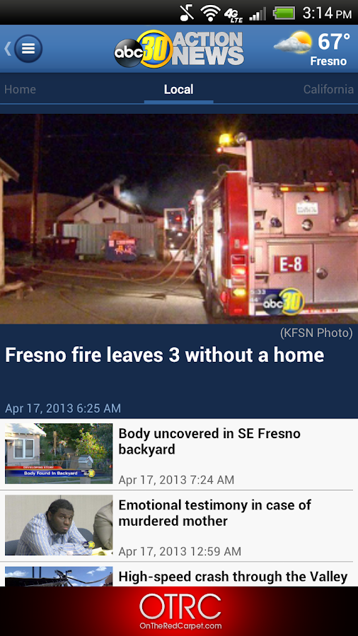 ABC30 Fresno - screenshot