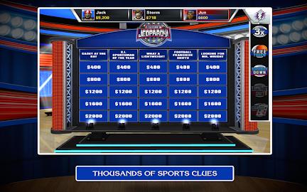 Sports Jeopardy! Screenshot 21