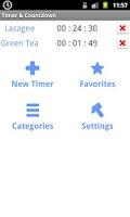 Screenshot of Timer & Countdown