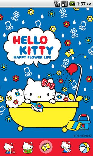 Hello Kitty Happy Bathe Theme