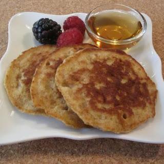 Whole Wheat Oat Pancakes