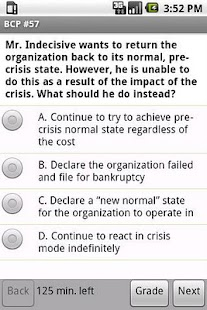 Business Continuity Exam Prep - screenshot thumbnail