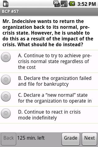Business Continuity Exam Prep - screenshot