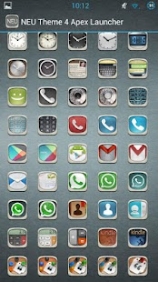 NEU Theme ADW,NOVA,APEX - screenshot thumbnail
